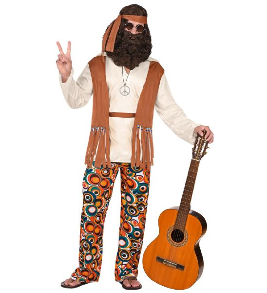 Adults Hippie Costume Fancy Dress